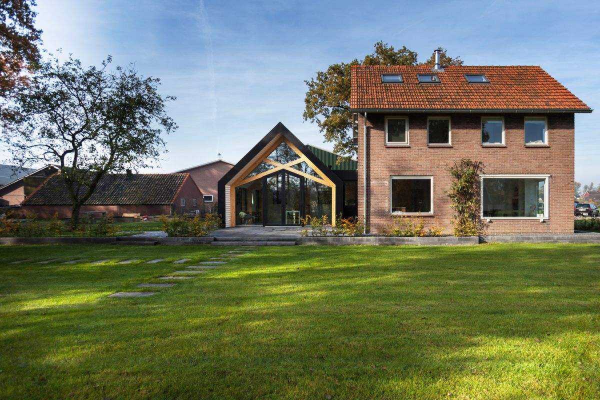 Farmhouse Renovation By Bureau Fraai Main House And Barn
