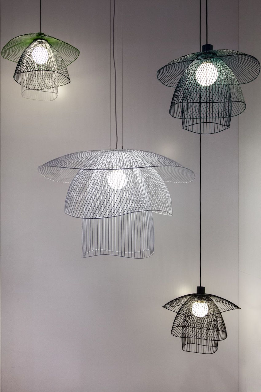 Forestier wire pendants