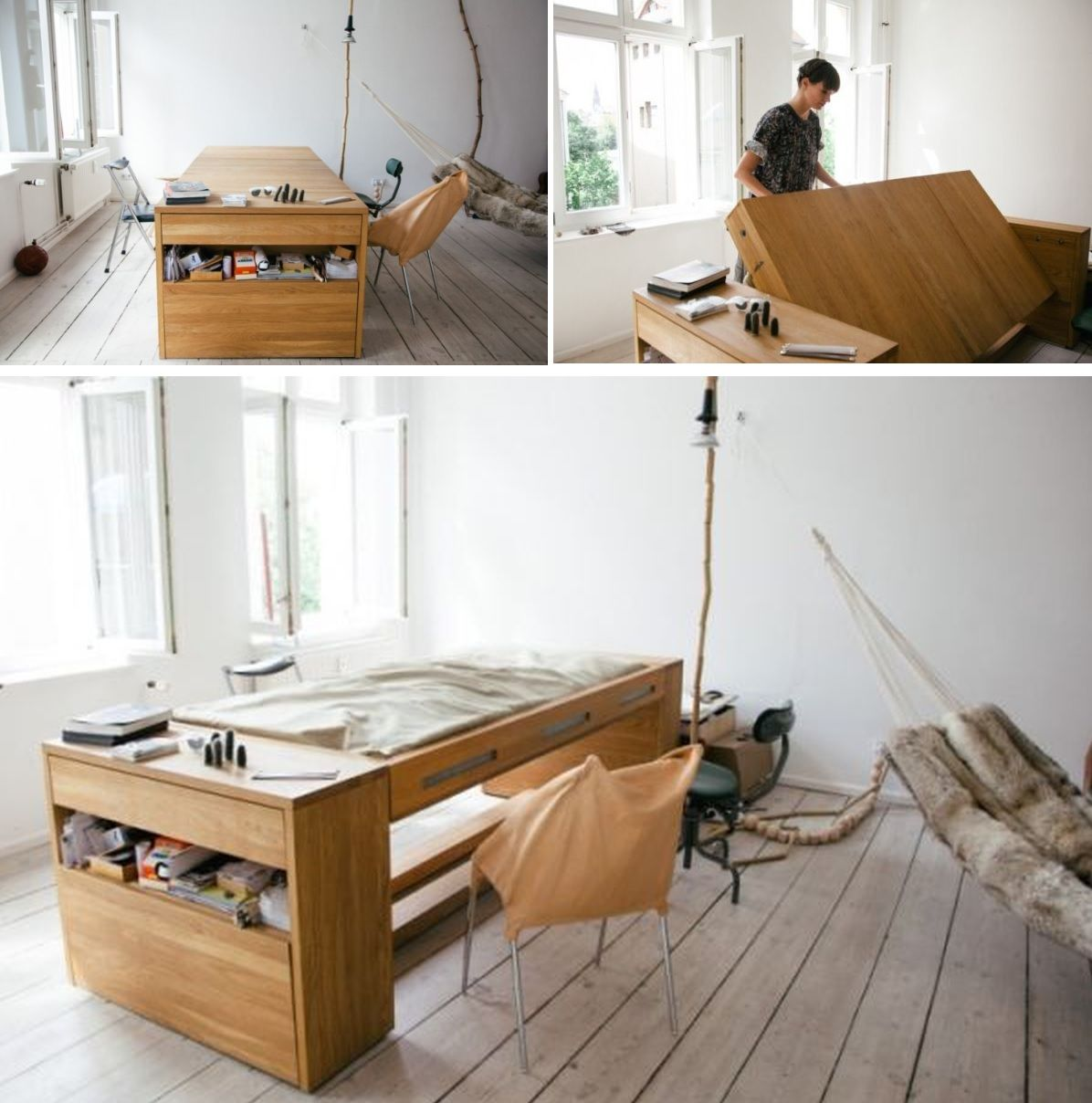 From Desk To Bed Multifunctional Furniture