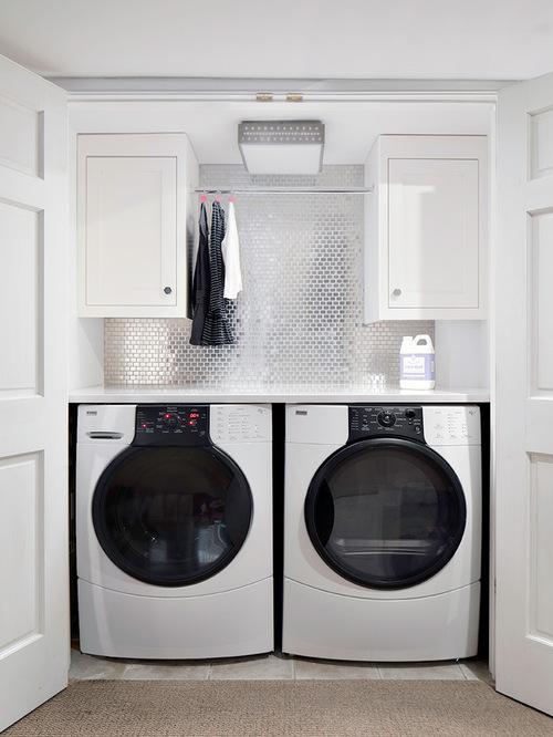 Glamorous laundry design