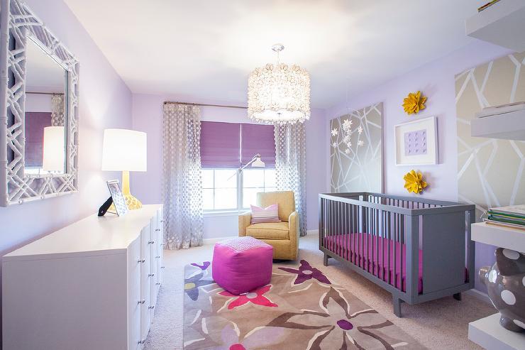 Grandios lavender nursery room