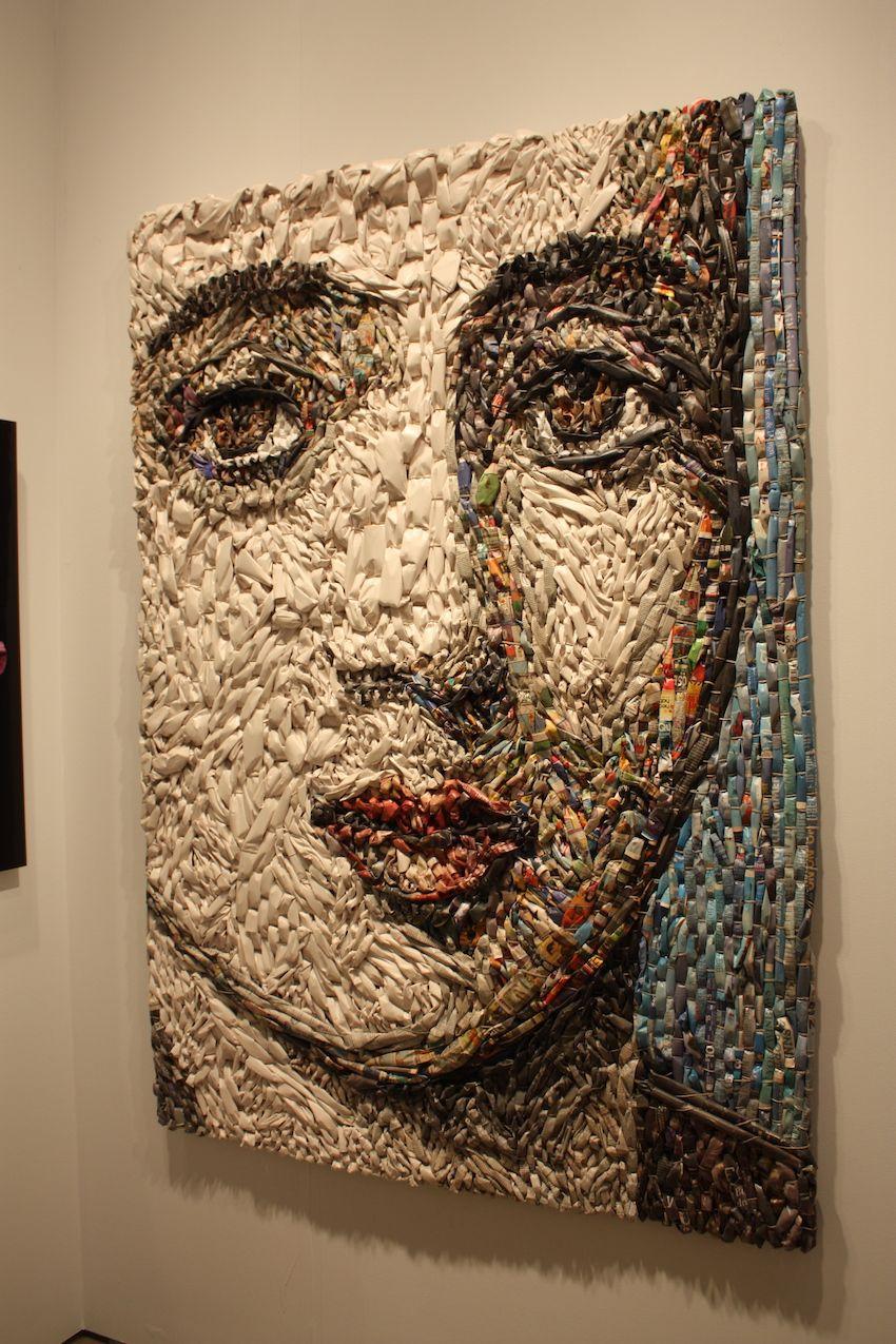 Gugger Petter Woven paper tube mosaic