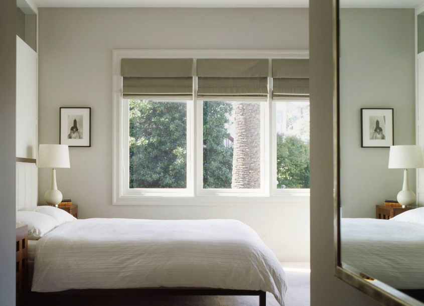 Hanging window treatments too low