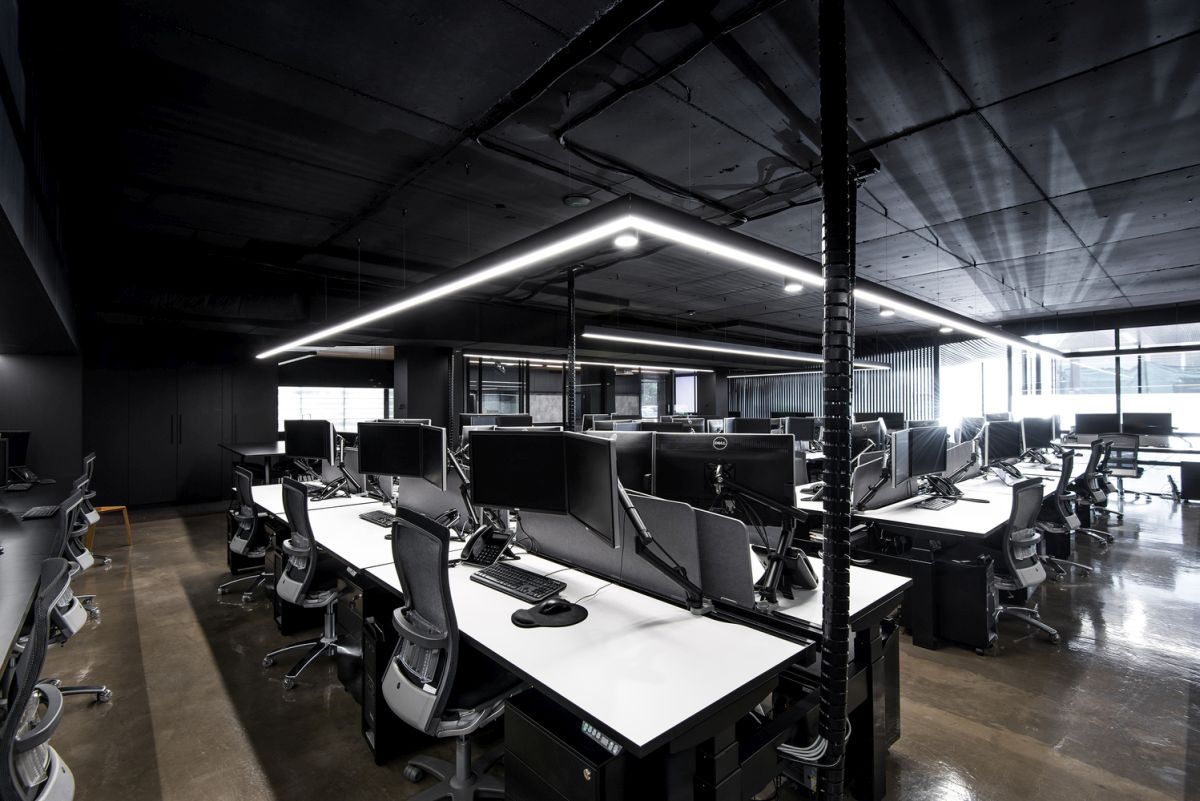 Hillam Office modern industrial vibe