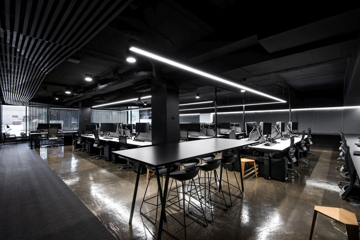 Modern architecture office promotes task oriented design for Architecture design