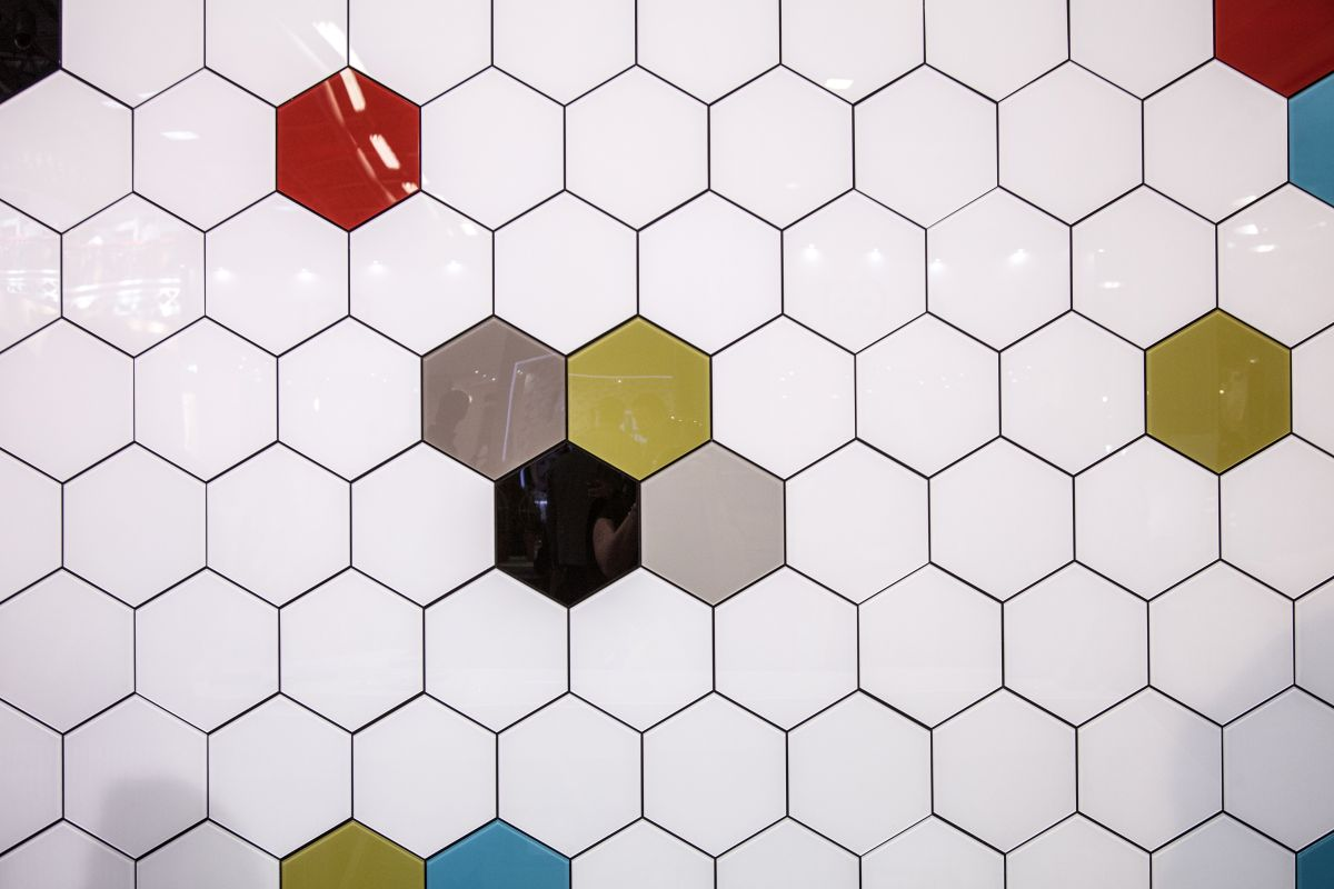 Honey Comb Wall Tiles