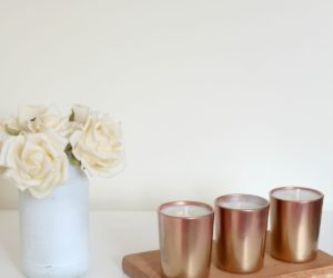 Metallic Votive Candles