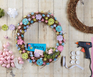 50 Spring And Easter Wreaths With Fresh Designs