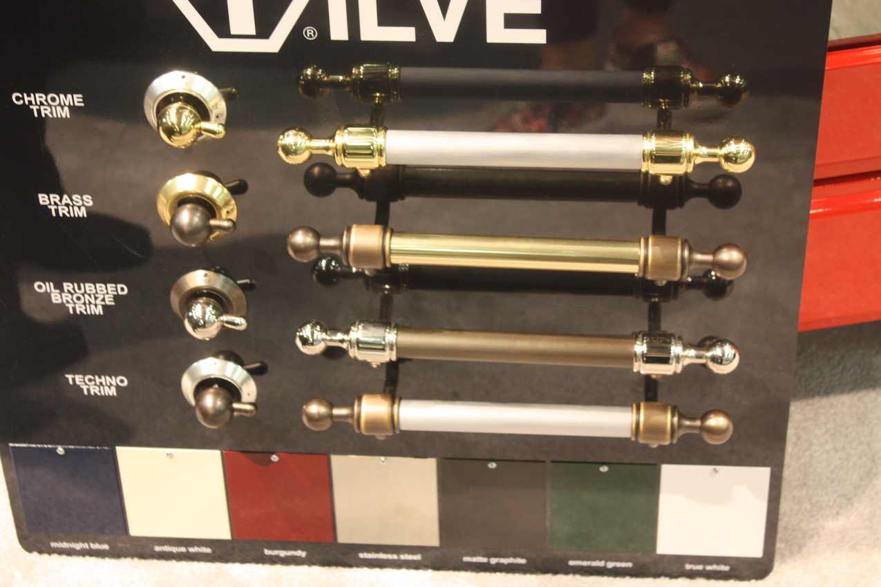 Ilve metal options