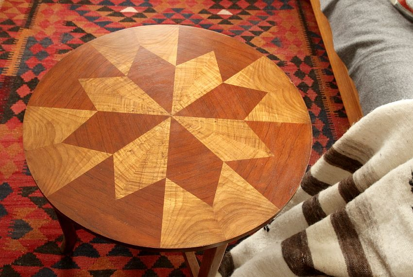 Inlay table renovation