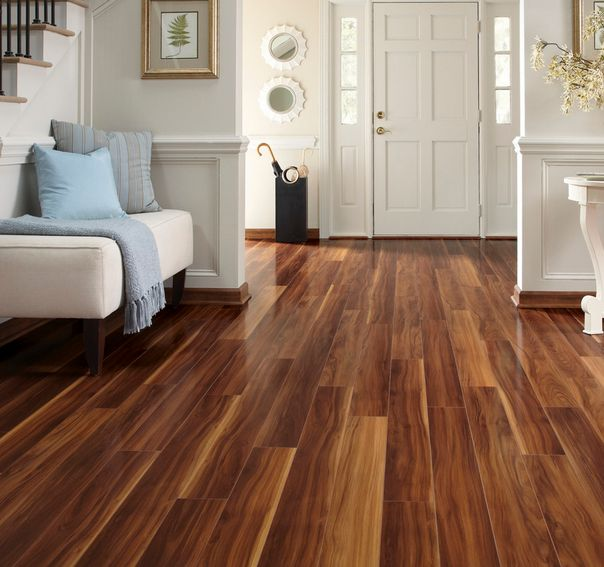 Laminate Floor Entryway