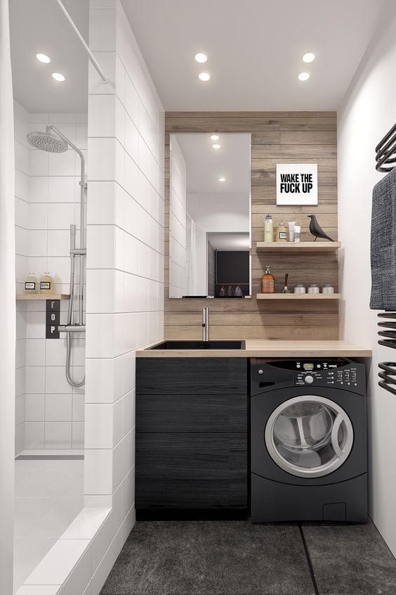 Masculine Modern Laundry