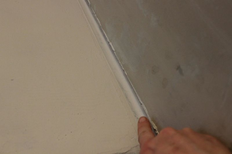 Mix up the fourth layer Ardex