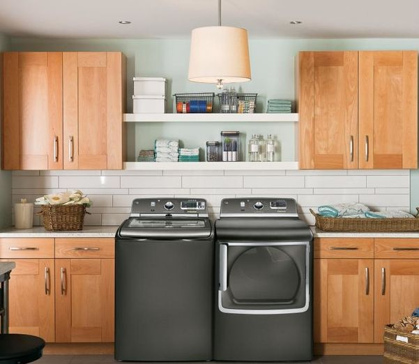 Mixed modern for laundry room