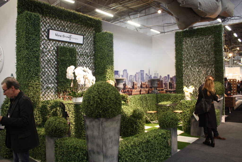 New Growth booth