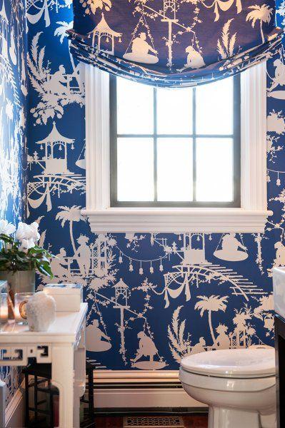 Object bathroom wallpaper1