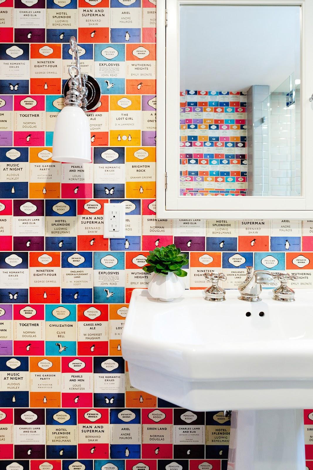 Object bathroom wallpaper10