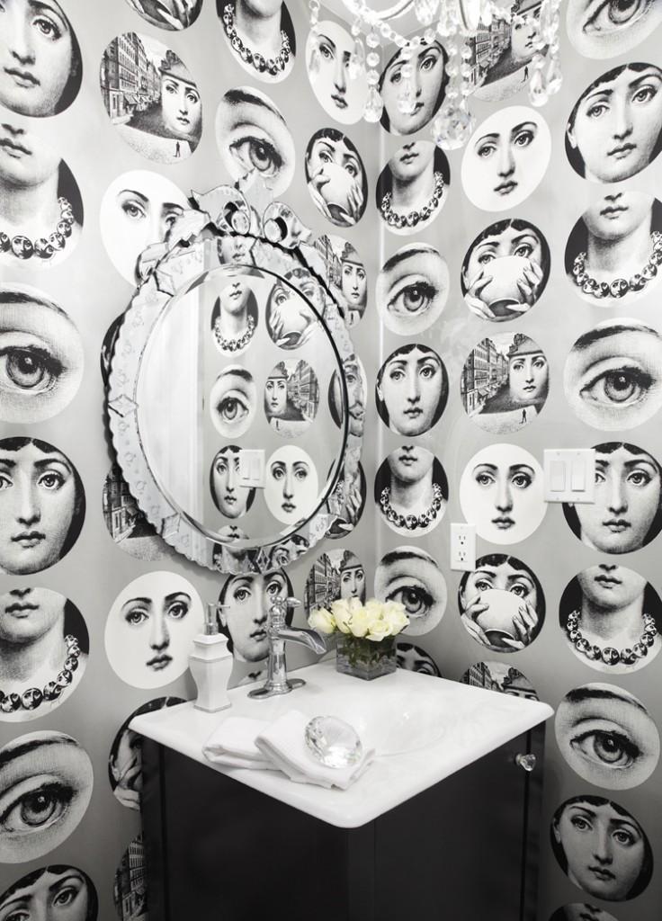 Object bathroom wallpaper3