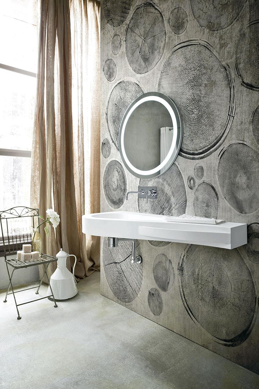 Object bathroom wallpaper8