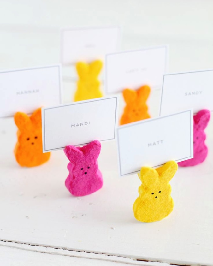 Peep place cards