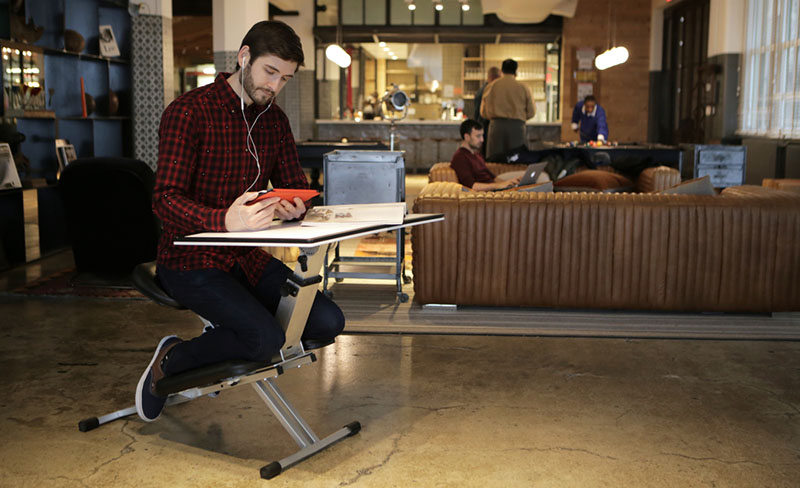 Portable desk designed to be portable