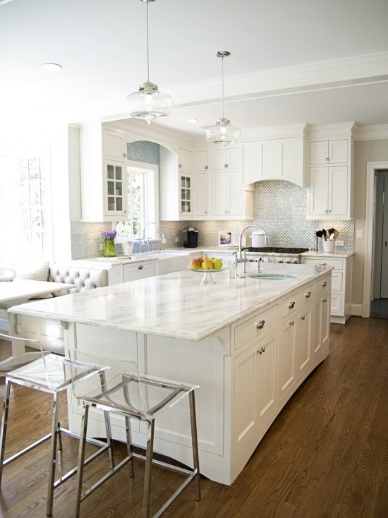 20 White Quartz Countertops Inspire Your Kitchen Renovation
