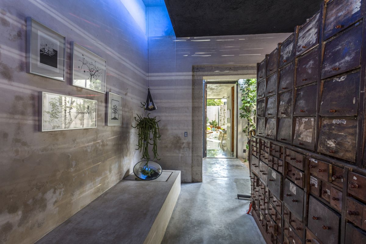 Raw House in Yucatan concrete surfaces