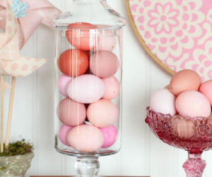 Decorating for Easter with Pantone's Colors of the Year