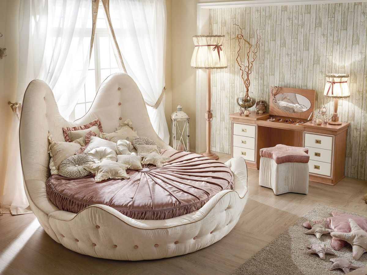 Kick It Up A Notch Decorating With Round Beds