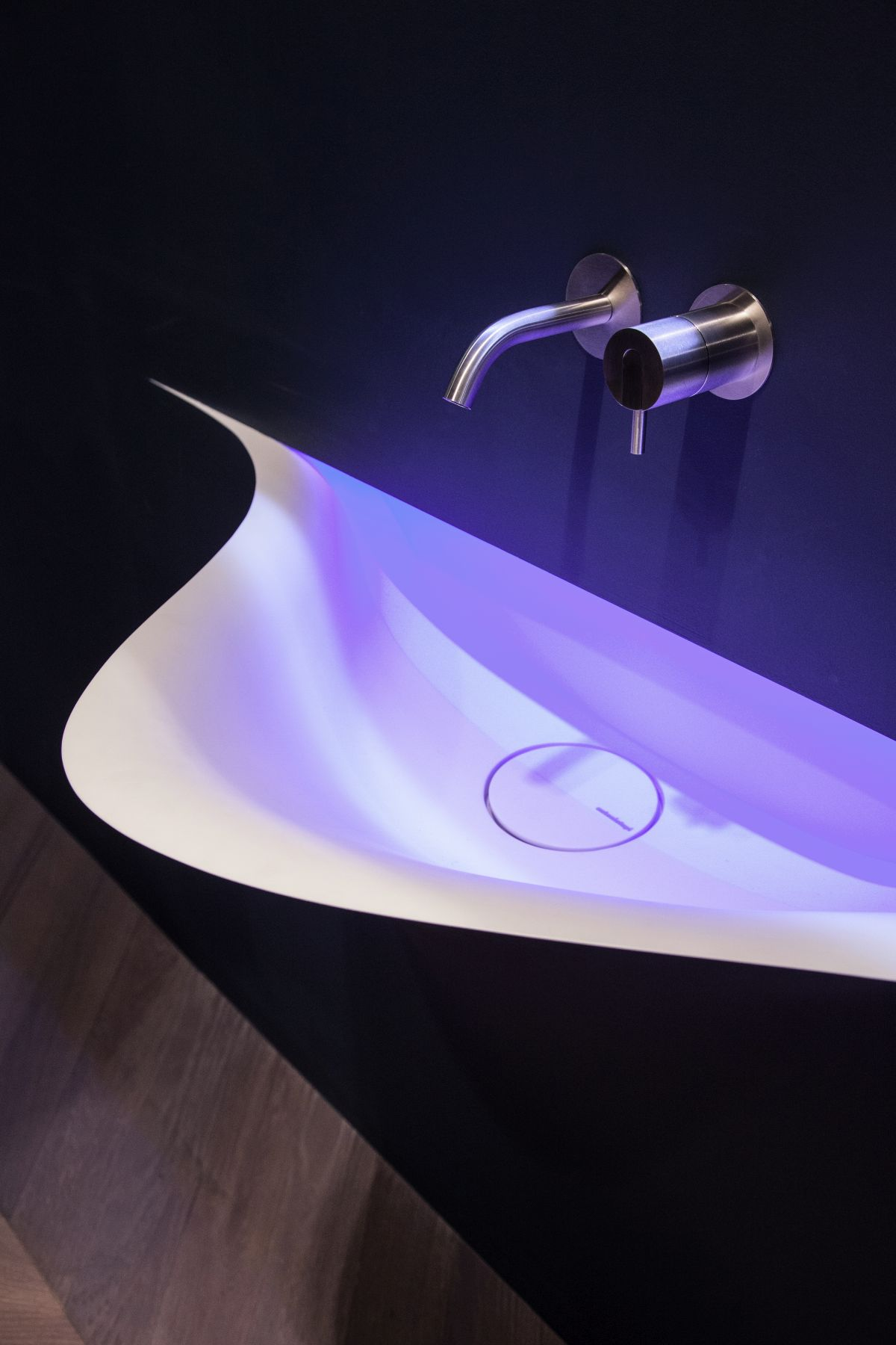 SILENZIO sink from antonio lupi design