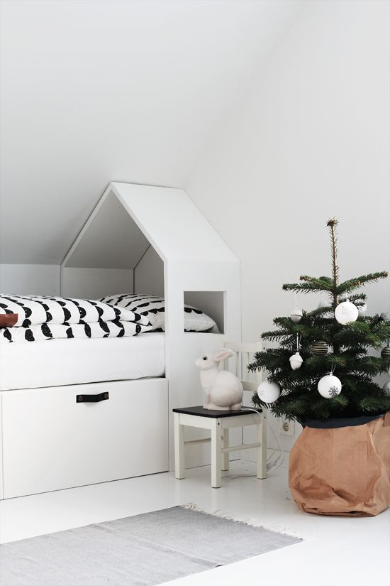 Scandinavian holiday decor