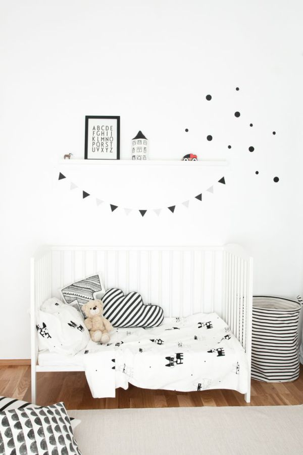 Scandinavian patterned bedding