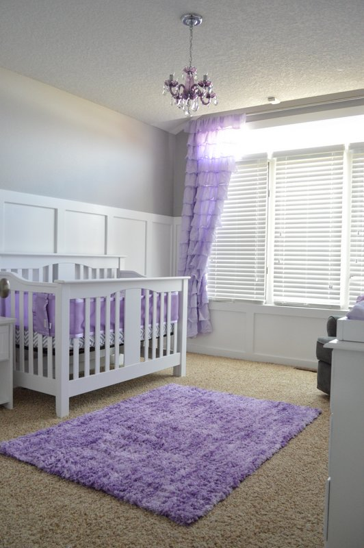 Simple and sweet nursery room