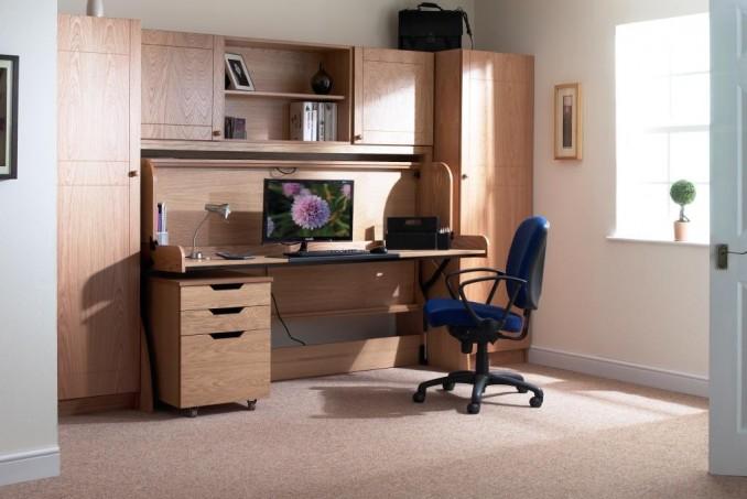 Single study office