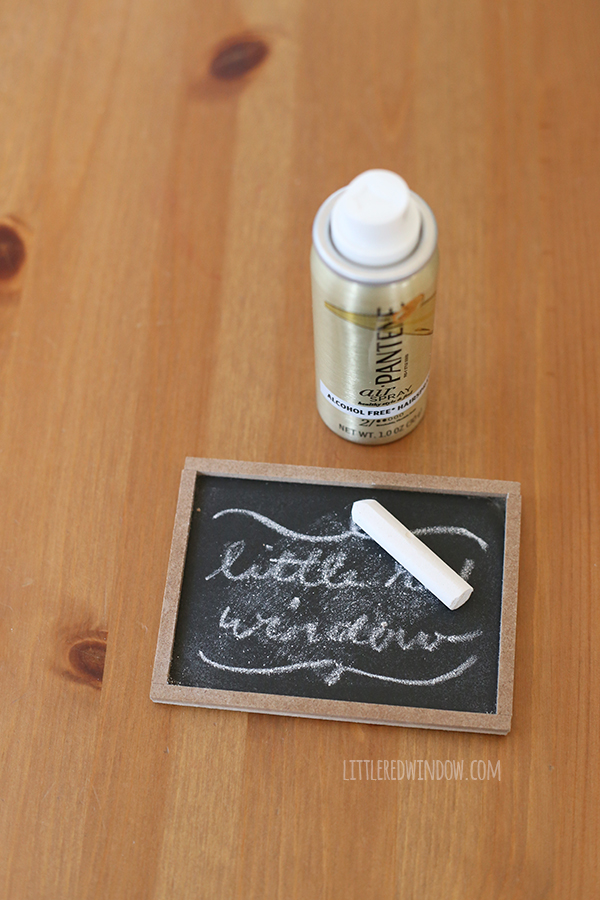 Small chalkboard frames
