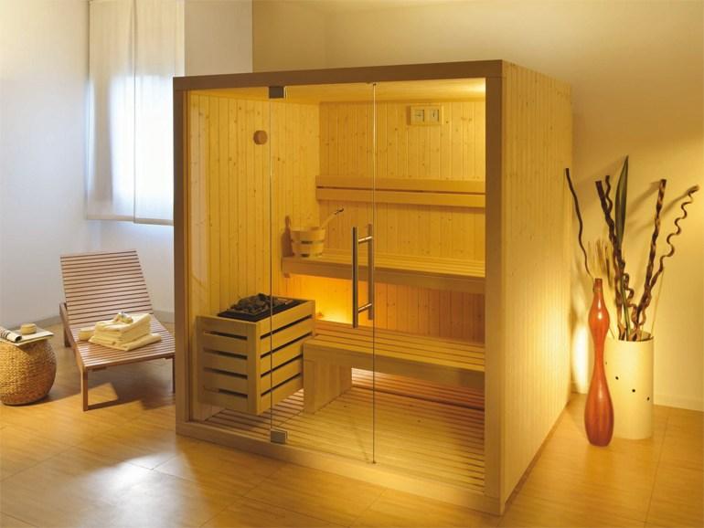 Smart level sauna