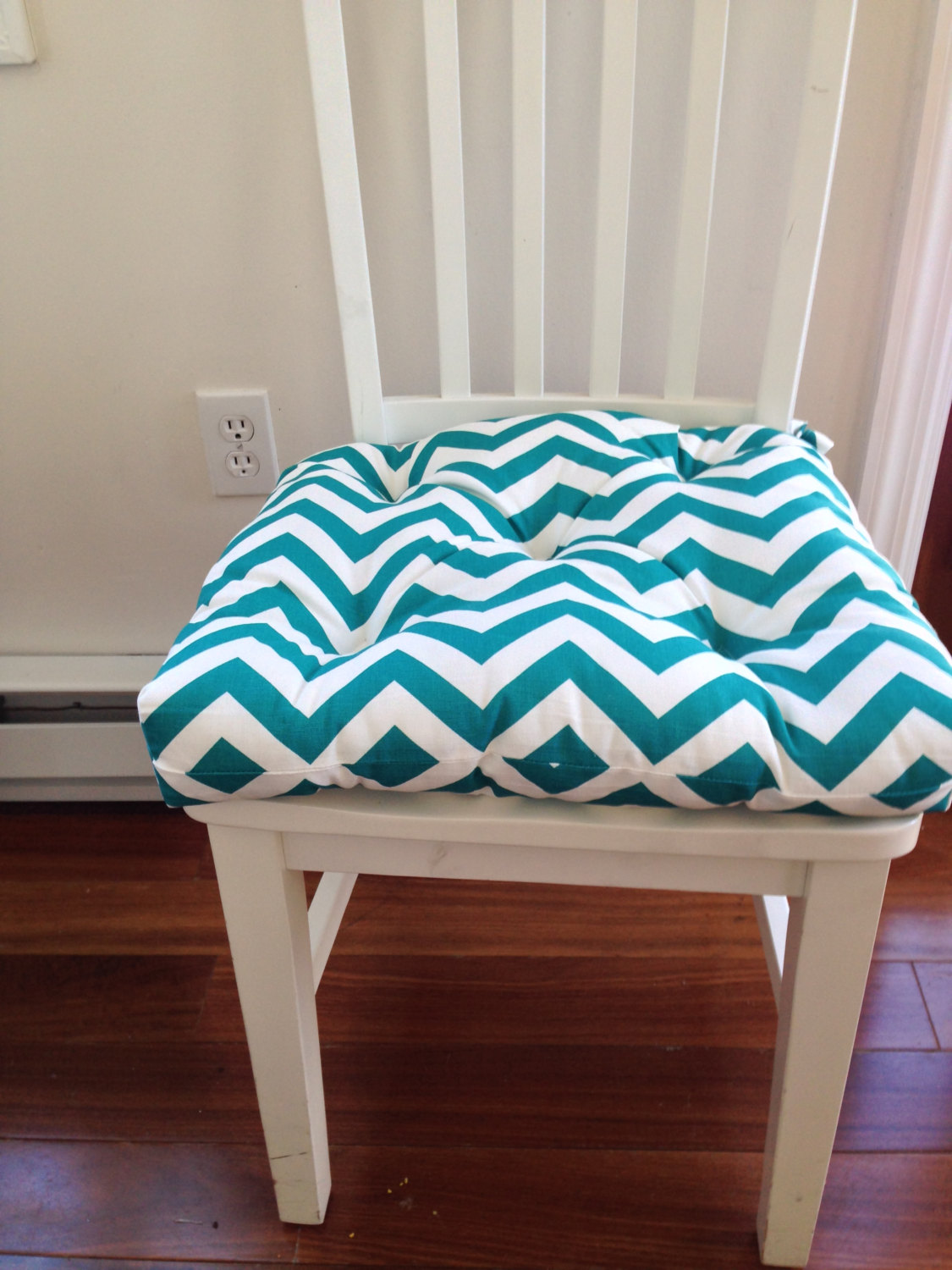 Soft chevron chairs covers