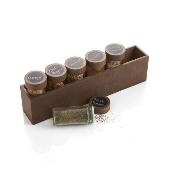 Spice jars box