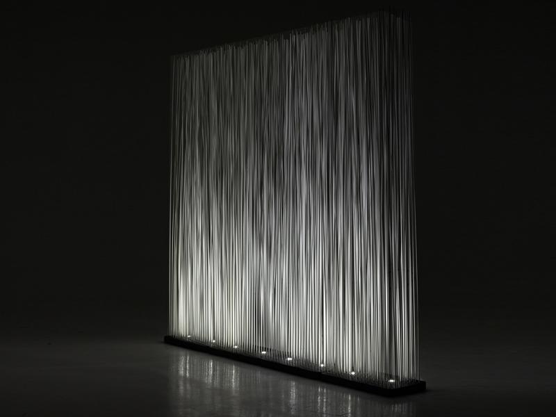 Sticks led light partition