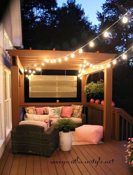 10 ways to decorate your pergola. Black Bedroom Furniture Sets. Home Design Ideas