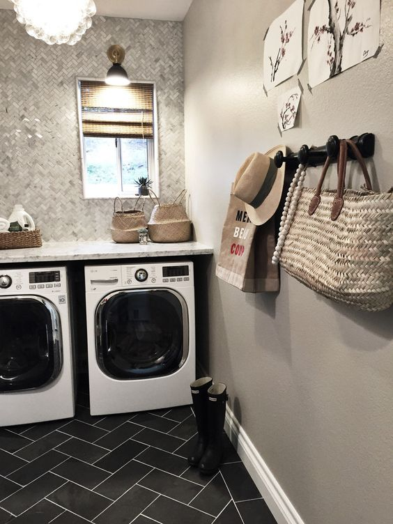 Texturally modern laundry