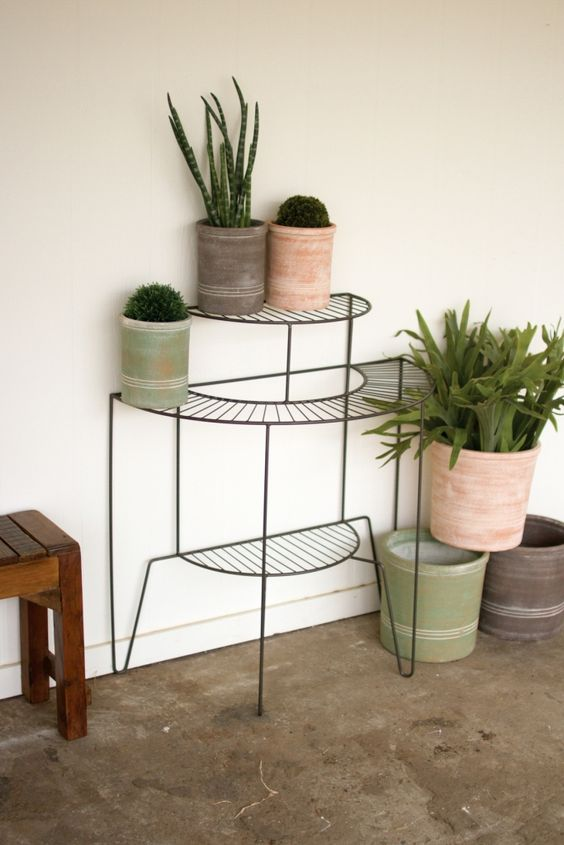 Three teired plant stand