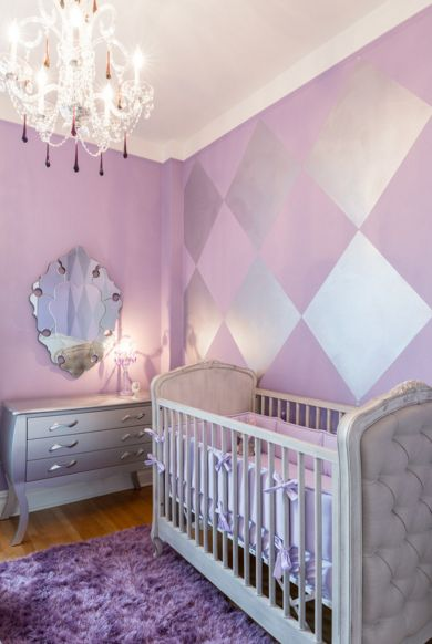Vintage luxury nursery room