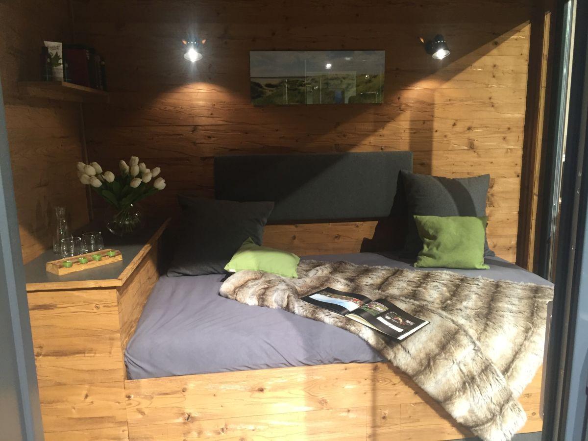 Wärmegrad sauna bed