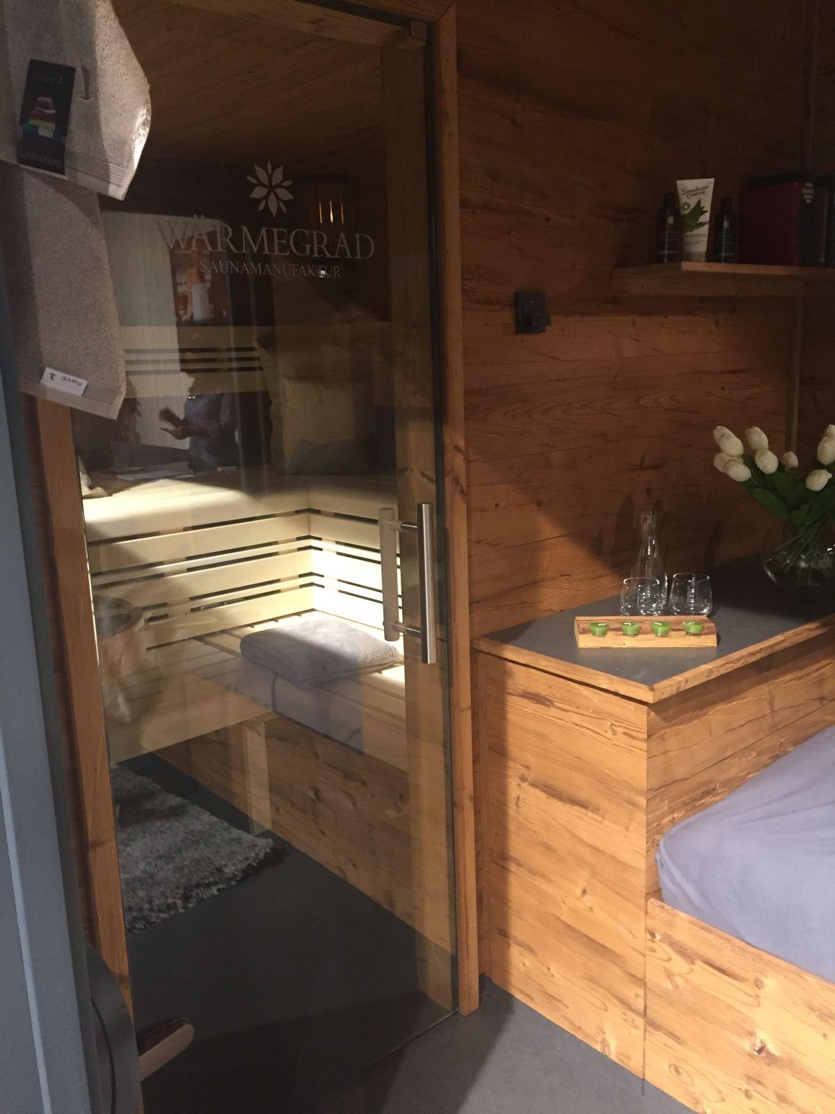 Wärmegrad sauna interior