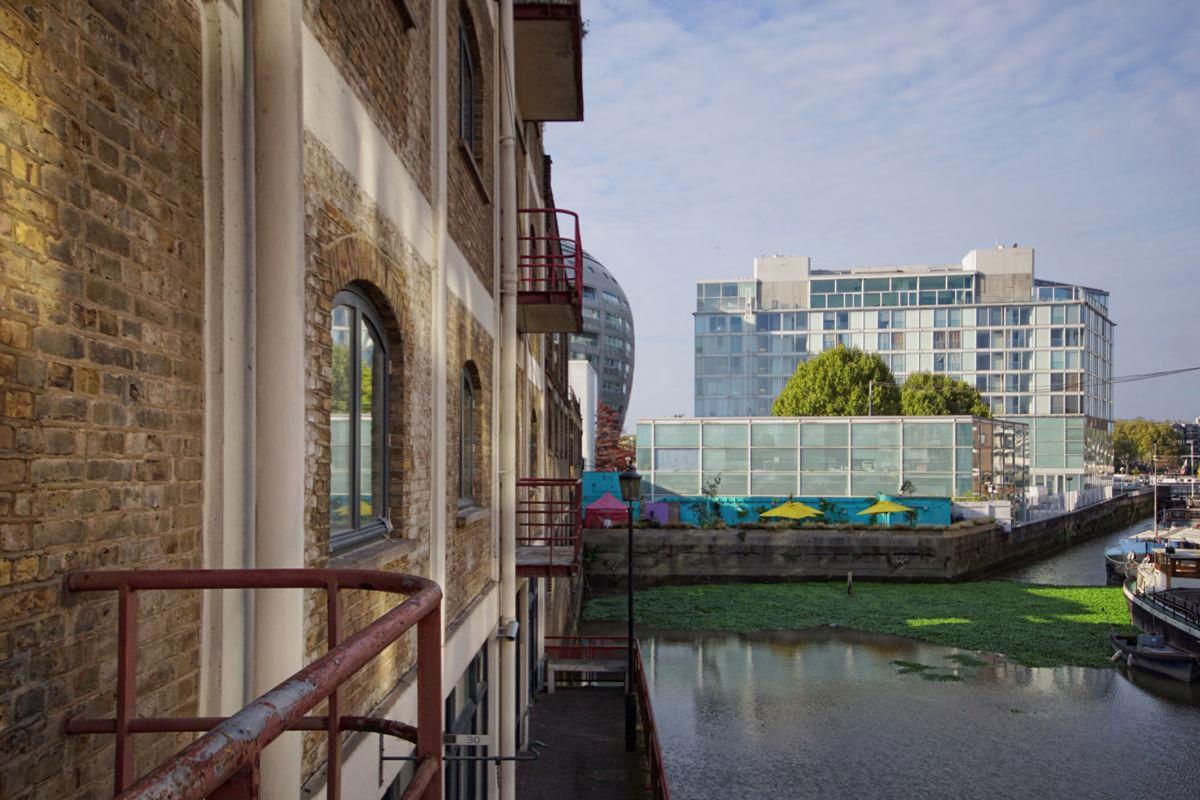 West Apartment Ransome's Dock building exterior