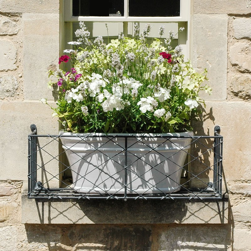 Wire window box