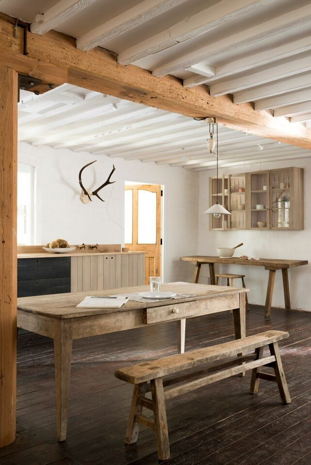 Wood furniture for kitchen