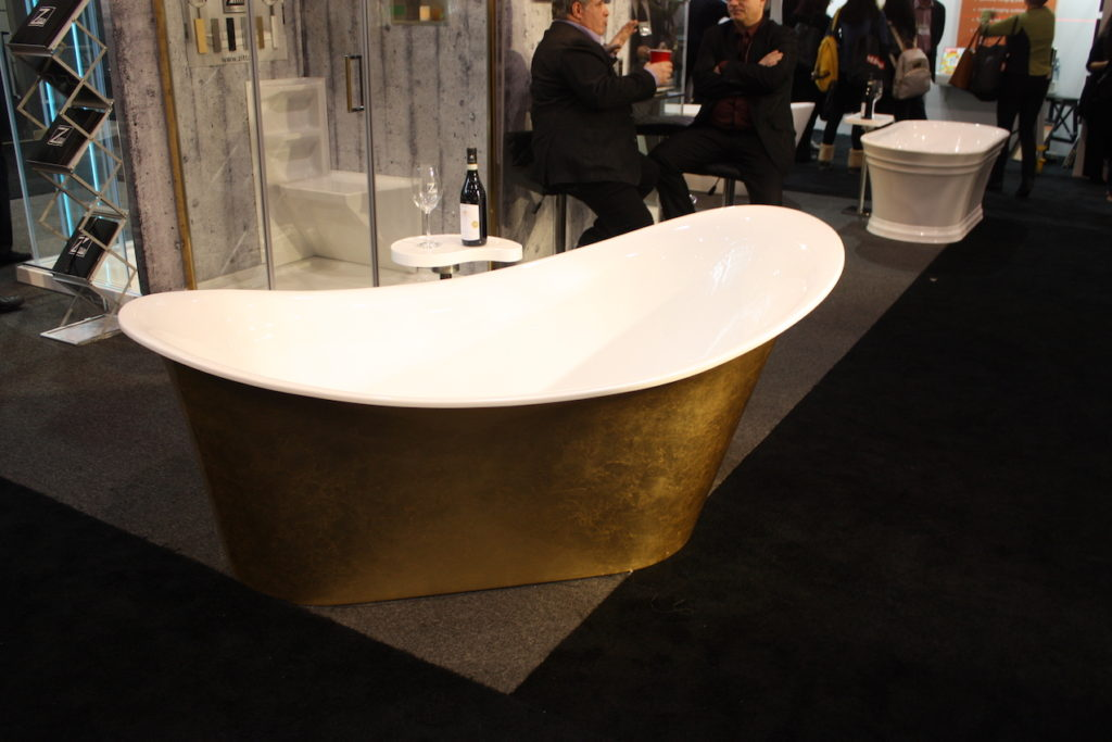 Zitta gold tub
