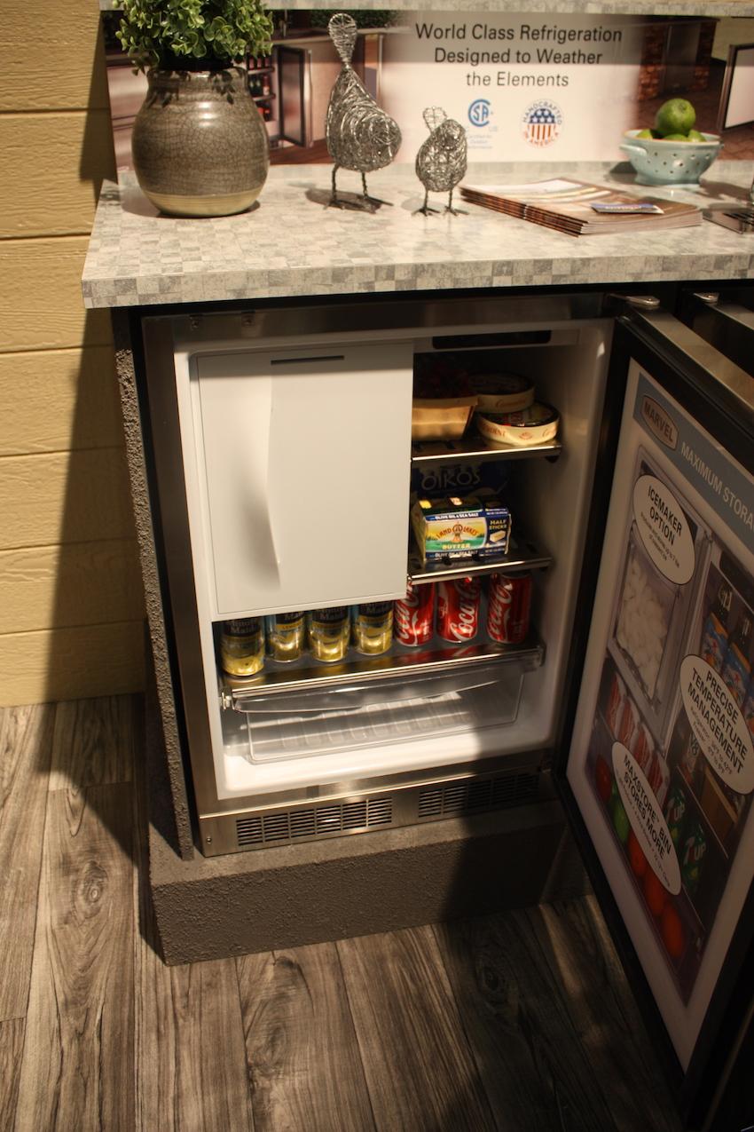 aga small fridge
